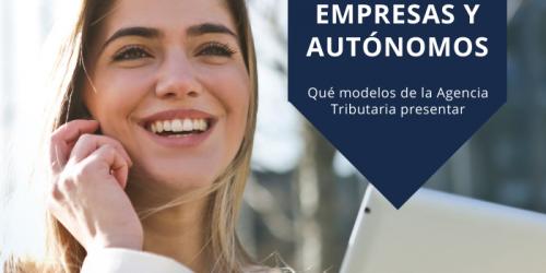 Qué modelos presentar para empresas y autónomos