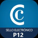 sello electronico camerfirma P12